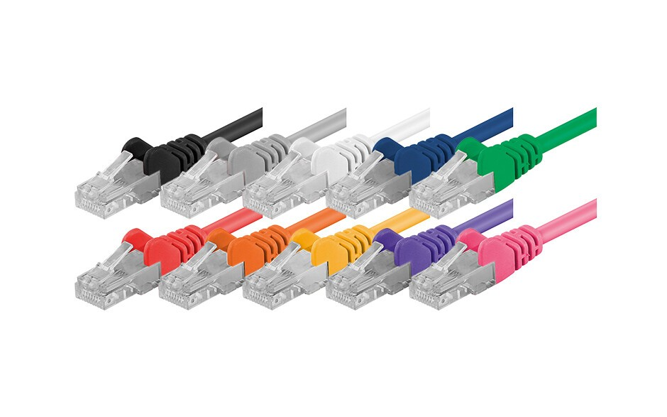 Cat 6 Netzwerkkabel - U/UTP - 100% Kupfer
