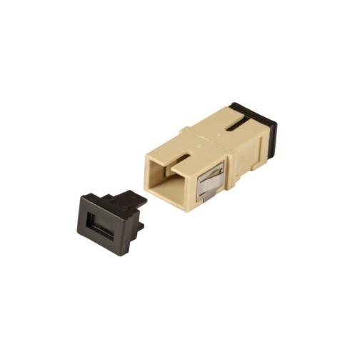 Afbeelding van Multimode Keystone Kupplung SC-SC simplex beige