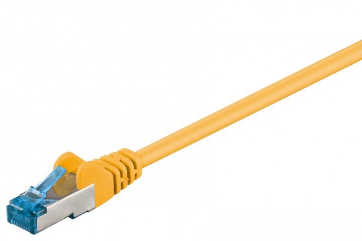 Afbeelding van CAT 6a Netzwerkkabel LSOH - S/FTP - 0,25 Meter - Gelb
