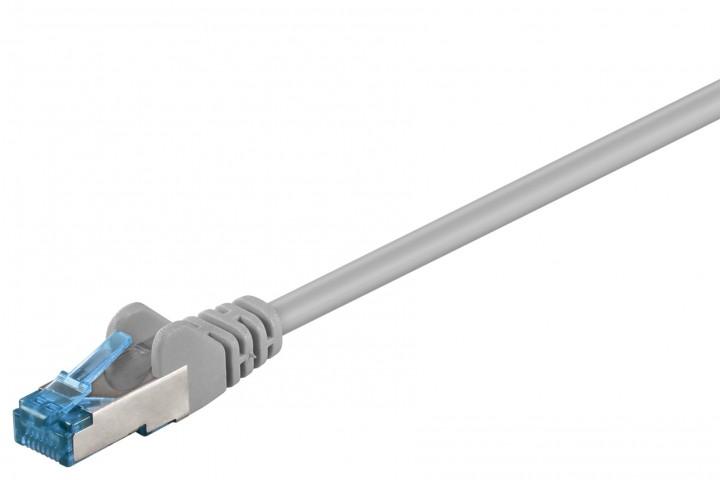 Afbeelding van CAT 6a Netzwerkkabel LSOH - S/FTP - 0,25 Meter - Grau