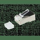 RJ45 CAT 6 Netzwerkstecker mit Hilfsstück - gechirmt - für flexible Kabel