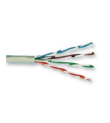 CAT 5e Belden Kabel LSOH - 4X2XAWG 24/1 - Starrleiter - 100% Kupfer - U/UTP - 100 Meter - Grau