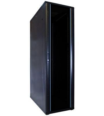 "42 HE 19"" Serverschrank, mit Glastür (BxTxH) 600 x 1200 x 2000mm"