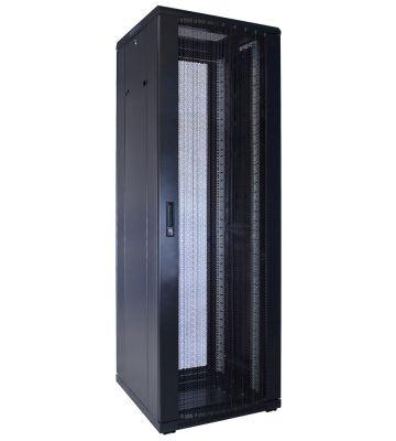 "37 HE 19"" Serverschrank, mit perforierter Fronttür (BxTxH) 600 x 600 x 1800mm"