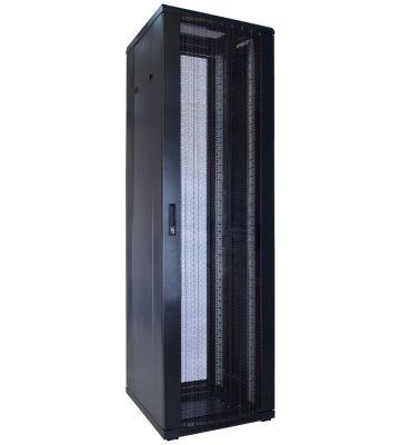 "42 HE 19"" Serverschrank, mit perforierter Fronttür (BxTxH) 600 x 600 x 2000mm"