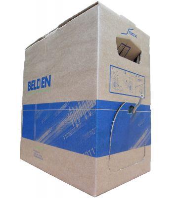 CAT 6 Belden Kabel - 4x2xAWG 23/1 - Starrleiter - 100% Kupfer - U/UTP - 305 Meter - Grau