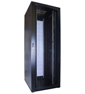 "47 HE 19"" Serverschrank, mit perforierter Fronttür (BxTxH) 800 x 1000 x 2260mm"