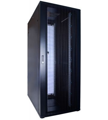 "42 HE 19"" Serverschrank, mit perforierter Fronttür (BxTxH) 800 x 1200 x 2000mm"