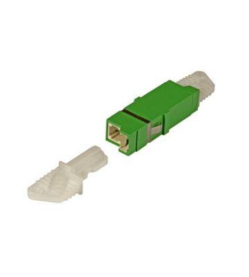 Singlemode Keystone Kupplung E2000-E2000 simplex grün