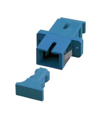 Singlemode Kupplung SC-SC simplex blau