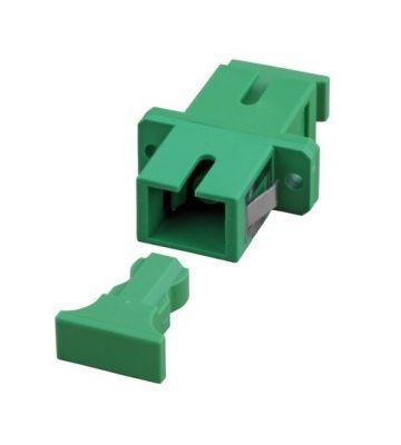 Singlemode Kupplung SC-SC simplex grün