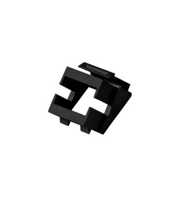 Keystone Adapter schwarz
