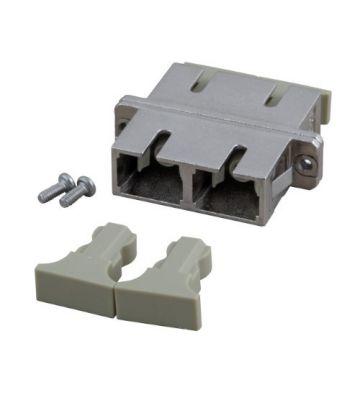 Multimode Kupplung SC-SC duplex mit Metallhülse