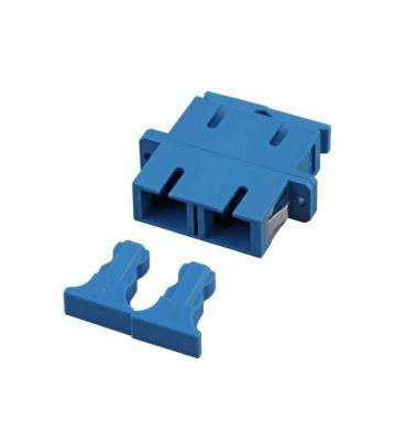 Singlemode Kupplung SC-SC duplex blau