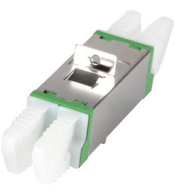 Singlemode Kupplung E2000-E2000 Duplex - grün