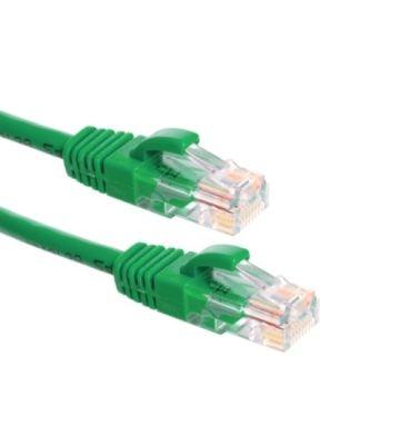 CAT6a Netzwerkkabel 100% Kupfer - U/UTP - 15 Meter - Grün