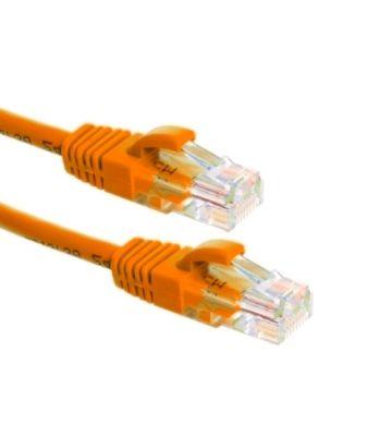 CAT6a Netzwerkkabel 100% Kupfer - U/UTP - 0,50 Meter - Orange