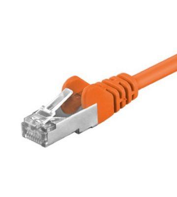CAT 5e Netzwerkkabel F/UTP – 0,50 Meter -  Orange