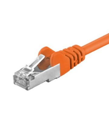 CAT 5e Netzwerkkabel F/UTP – 1,50 Meter -  Orange
