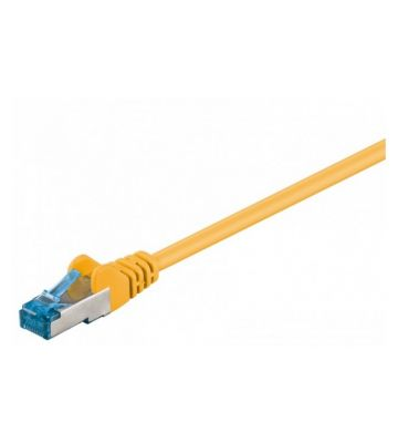 CAT 6a Netzwerkkabel LSOH - S/FTP - 30 Meter - Gelb