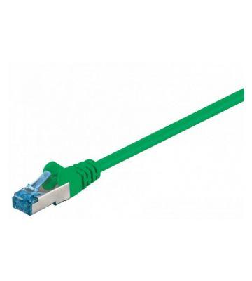 CAT 6a Netzwerkkabel LSOH - S/FTP - 50 Meter - Grün