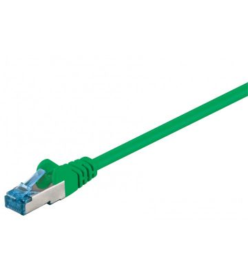 CAT 6a Netzwerkkabel LSOH - S/FTP - 1,50 Meter - Grün