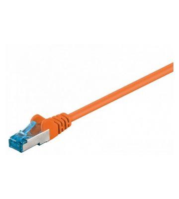 CAT 6a Netzwerkkabel LSOH - S/FTP - 30 Meter - Orange