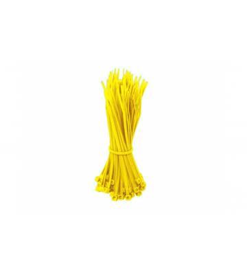 Kabelbinder 140mm - Gelb - 100 Stück
