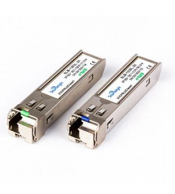 SFP-Transceiver-Modul LC singlemode TX1310/RX1490nm 20 Kilometer