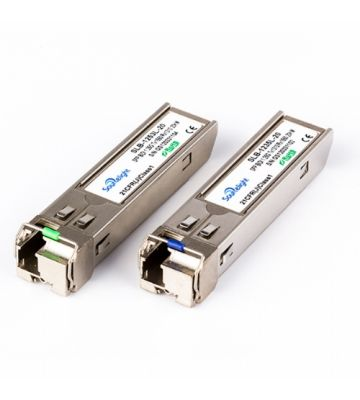 SFP-Transceiver-Modul Plus 10 gigabit singlemode simplex TX: 1270nm RX: 1330nm 20km
