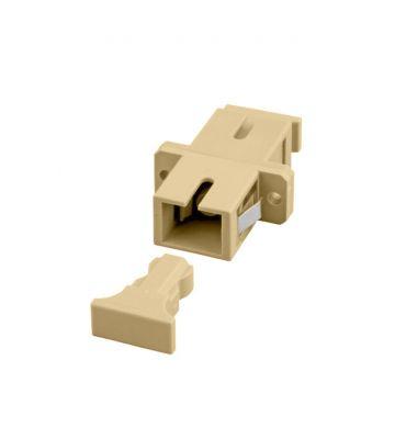 Multimode Kupplung SC-SC simplex beige