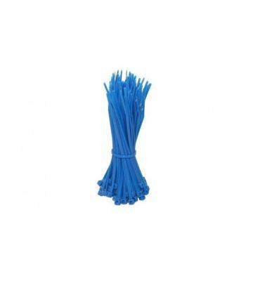 Kabelbinder 200mm - Blau - 100 Stück