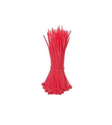 Kabelbinder 140mm - Rot - 100 Stück