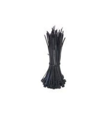 Kabelbinder 200mm - Schwarz - 100 Stück