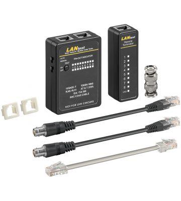 Netzwerktester, U/UTP, F/UTP und SF/UTP Leitungstester, Cat5 Cat6 Kabeltester
