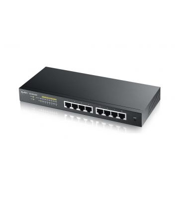 Zyxel 8-Ports GS1900 smart managed PoE+ Switch