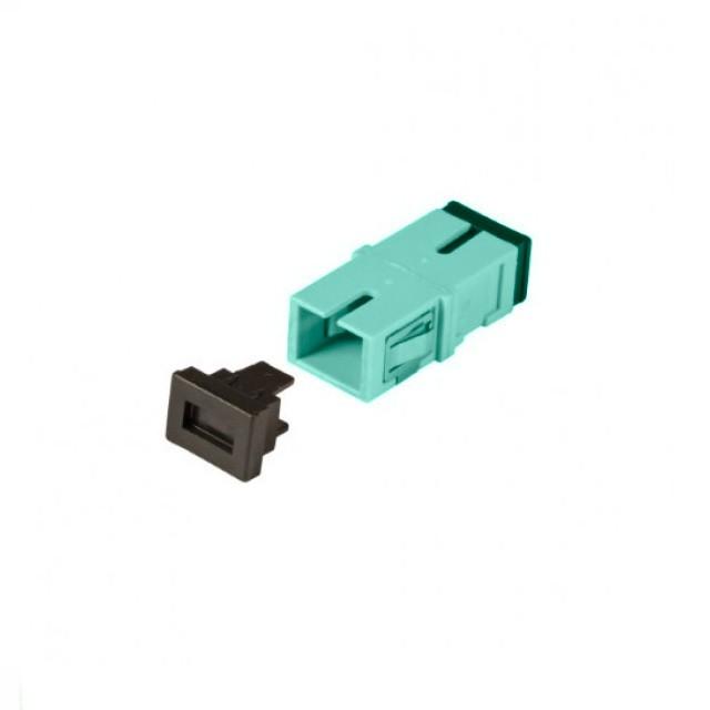 Afbeelding van Multimode Keystone Kupplung SC-SC simplex türkis