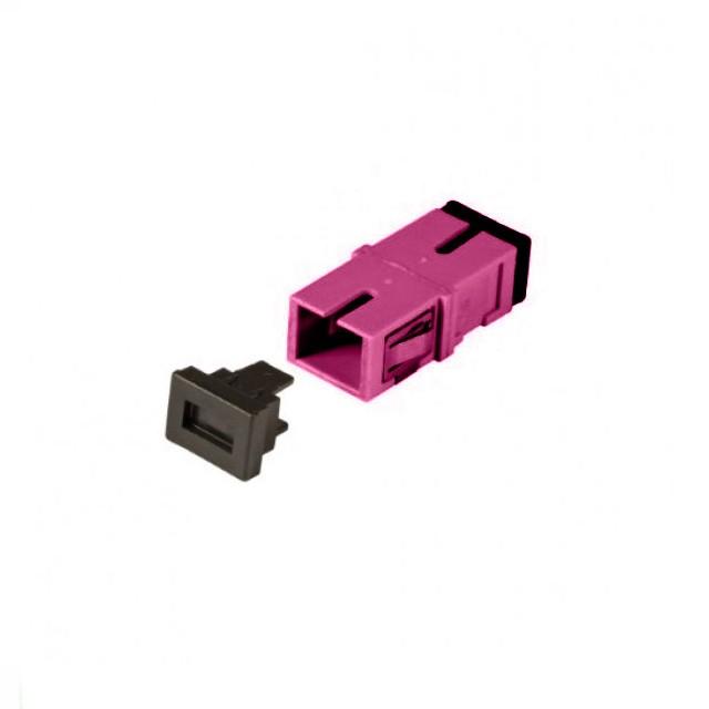 Afbeelding van Multimode Keystone Kupplung SC-SC simplex lila